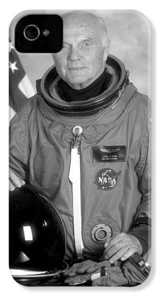 Astronaut John Glenn IPhone 4 / 4s Case by War Is Hell Store