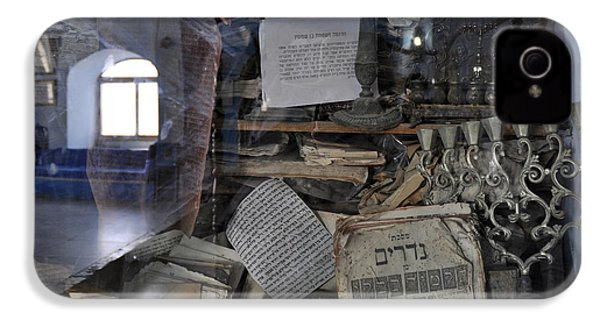 IPhone 4 Case featuring the photograph At The Old Tample Of Safed  by Dubi Roman