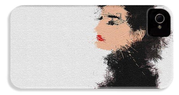 Audrey Hepburn IPhone 4 Case by Miranda Sether