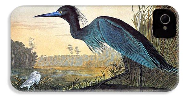 Audubon: Little Blue Heron IPhone 4 / 4s Case by Granger