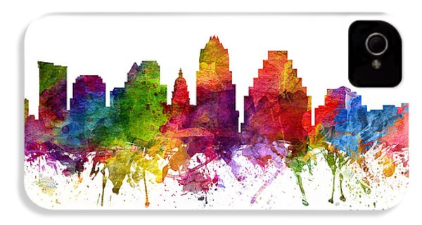 Austin Cityscape 06 IPhone 4 / 4s Case by Aged Pixel
