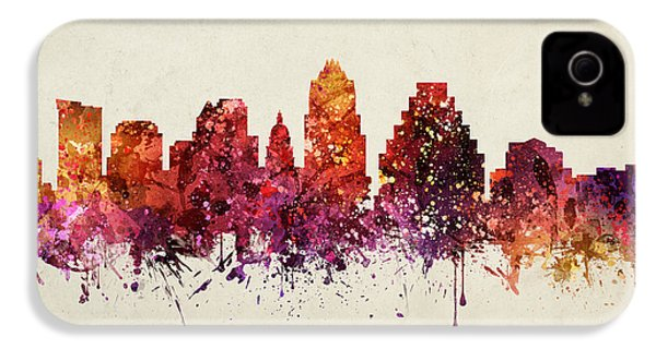 Austin Cityscape 09 IPhone 4 / 4s Case by Aged Pixel