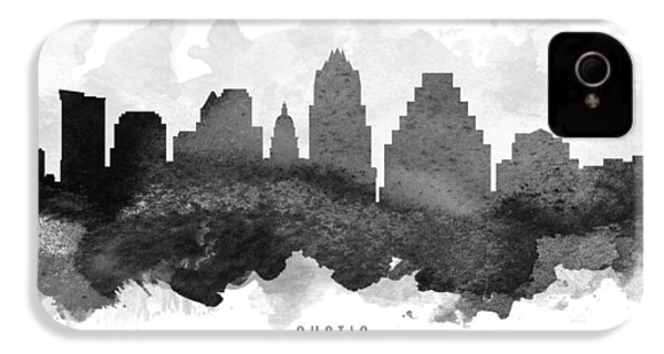 Austin Cityscape 11 IPhone 4 Case by Aged Pixel