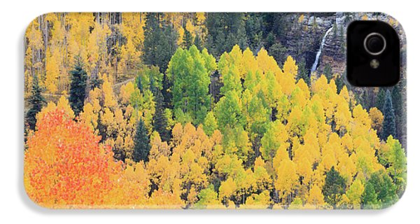 IPhone 4 Case featuring the photograph Autumn Glory by David Chandler