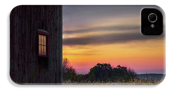 IPhone 4 Case featuring the photograph Autumn Glow Square by Bill Wakeley
