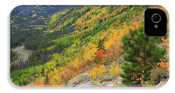 Autumn On Bierstadt Trail IPhone 4 Case by David Chandler