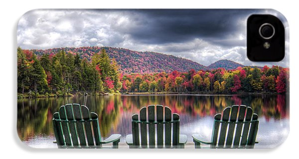 IPhone 4 Case featuring the photograph Autumn On West Lake by David Patterson
