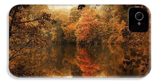 Autumn Reflected IPhone 4 Case by Jessica Jenney