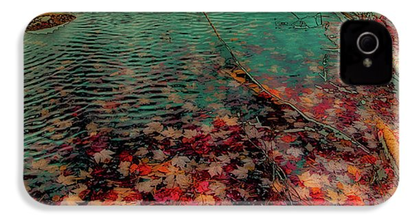 IPhone 4 Case featuring the photograph Autumn Submerged by David Patterson