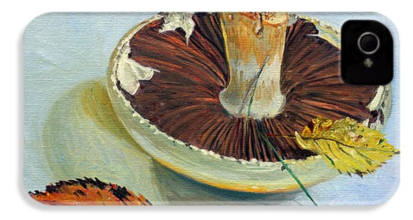 Autumnal Still Life, IPhone 4 Case by Tilly Willis