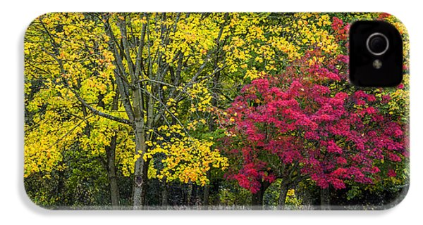 Autumn's Peak IPhone 4 Case by Jeremy Lavender Photography