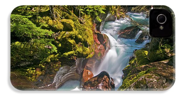IPhone 4 Case featuring the photograph Avalanche Gorge by Gary Lengyel