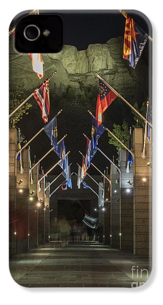 Avenue Of Flags IPhone 4 / 4s Case by Juli Scalzi