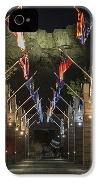 Avenue Of Flags IPhone 4 Case by Juli Scalzi