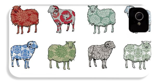 Baa Humbug IPhone 4 Case by Sarah Hough