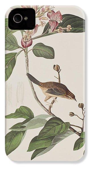 Bachmans Sparrow IPhone 4 / 4s Case by John James Audubon