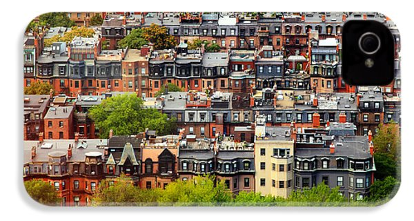 Back Bay IPhone 4 Case by Rick Berk