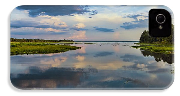 Backwater Sunset IPhone 4 Case