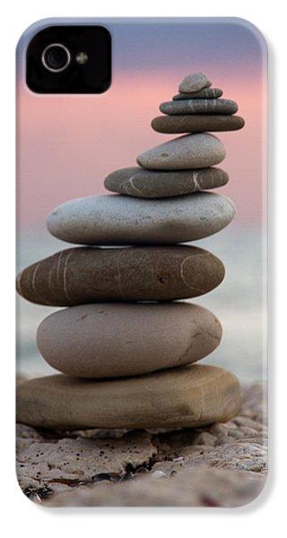 Balance IPhone 4 Case by Stelios Kleanthous