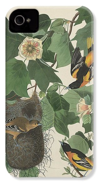 Baltimore Oriole IPhone 4 Case by Rob Dreyer