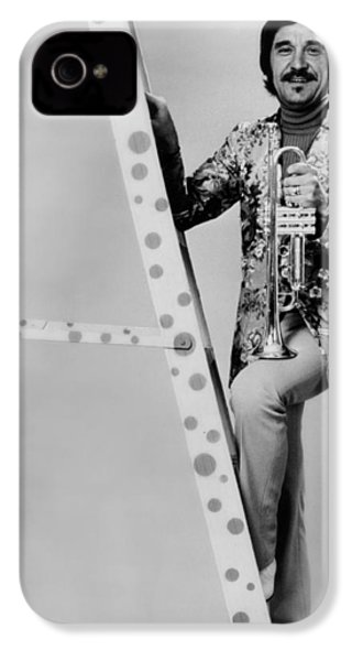 Band Leader Doc Severinson 1974 IPhone 4 Case by Mountain Dreams