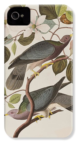 Band-tailed Pigeon  IPhone 4 / 4s Case by John James Audubon