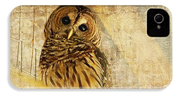 Barred Owl IPhone 4 Case