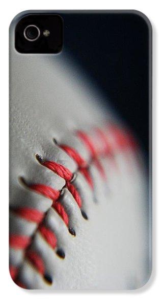 Baseball Fan IPhone 4 Case by Rachelle Johnston