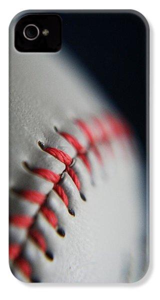Baseball Fan IPhone 4 / 4s Case by Rachelle Johnston