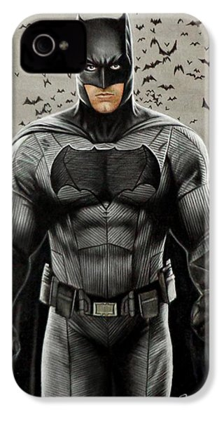 Batman Ben Affleck IPhone 4 / 4s Case by David Dias