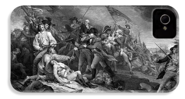 Battle Of Bunker Hill IPhone 4 Case by War Is Hell Store