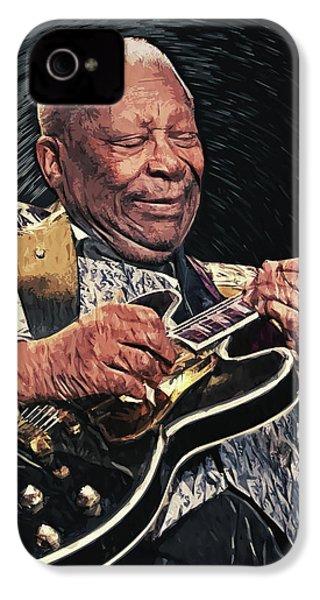 B.b. King II IPhone 4 Case