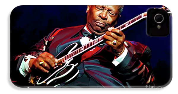 Bb King IPhone 4 Case by Paul Tagliamonte
