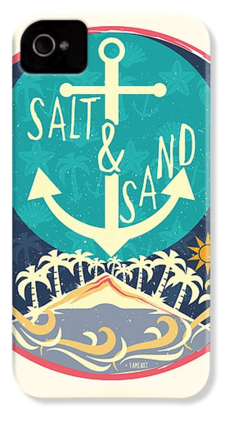 Beach IPhone 4 Case by Famenxt DB