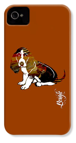 Beagle Collection IPhone 4 Case by Marvin Blaine