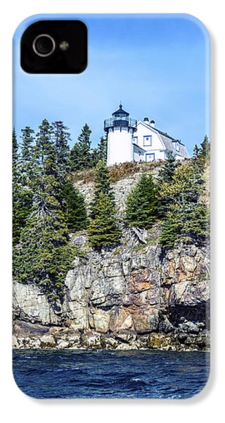 Bear Island Lighthouse IPhone 4 Case