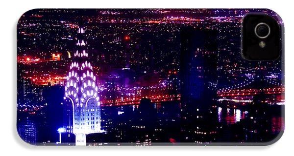Beautiful Manhattan Skyline IPhone 4 / 4s Case by Az Jackson
