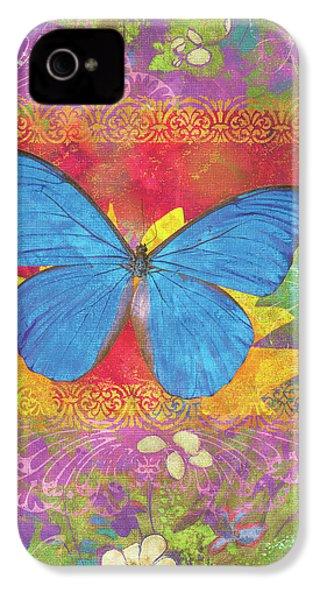 Beauty Queen Butterfly IPhone 4 Case