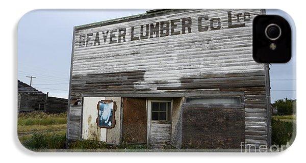 Beaver Lumber Company Ltd Robsart IPhone 4 Case by Bob Christopher