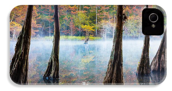 Beavers Bend Cypress Grove IPhone 4 / 4s Case by Inge Johnsson