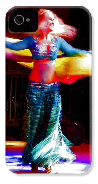 Belly Dance IPhone 4 Case by Andy Za