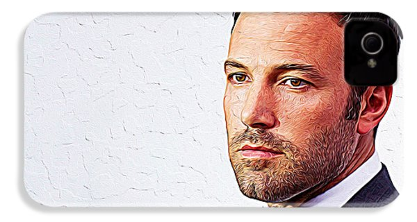 Ben Affleck IPhone 4 Case by Iguanna Espinosa