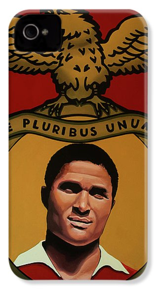 Benfica Lisbon Painting IPhone 4 Case by Paul Meijering