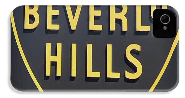 Beverly Hills Sign IPhone 4 Case