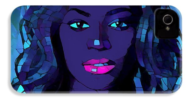 Beyonce Graphic Abstract IPhone 4 Case by Dan Sproul