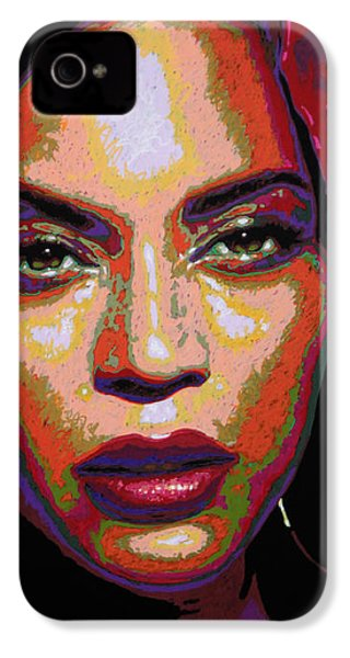 Beyonce IPhone 4 Case by Maria Arango
