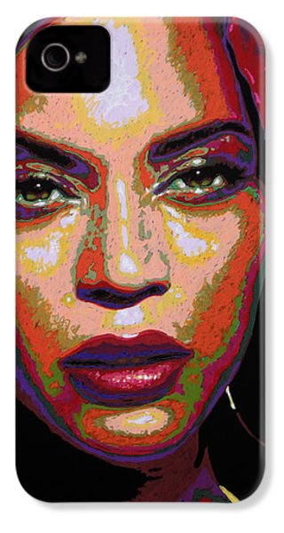 Beyonce IPhone 4 / 4s Case by Maria Arango