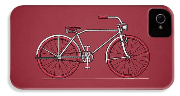 Bicycle 1935 IPhone 4 Case by Mark Rogan