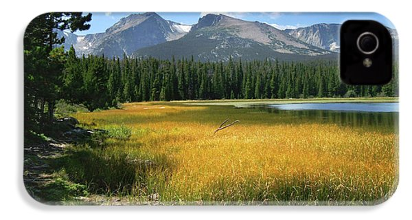 Autumn At Bierstadt Lake IPhone 4 Case by David Chandler