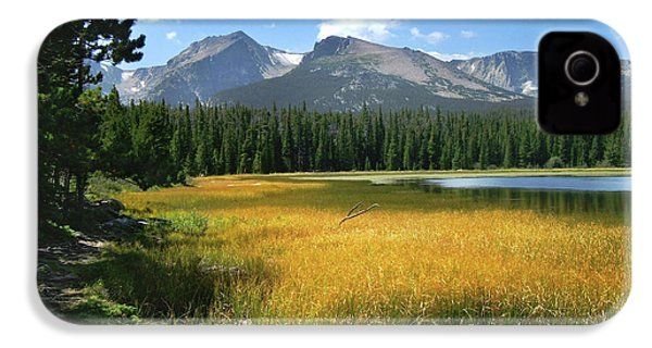 IPhone 4 Case featuring the photograph Autumn At Bierstadt Lake by David Chandler
